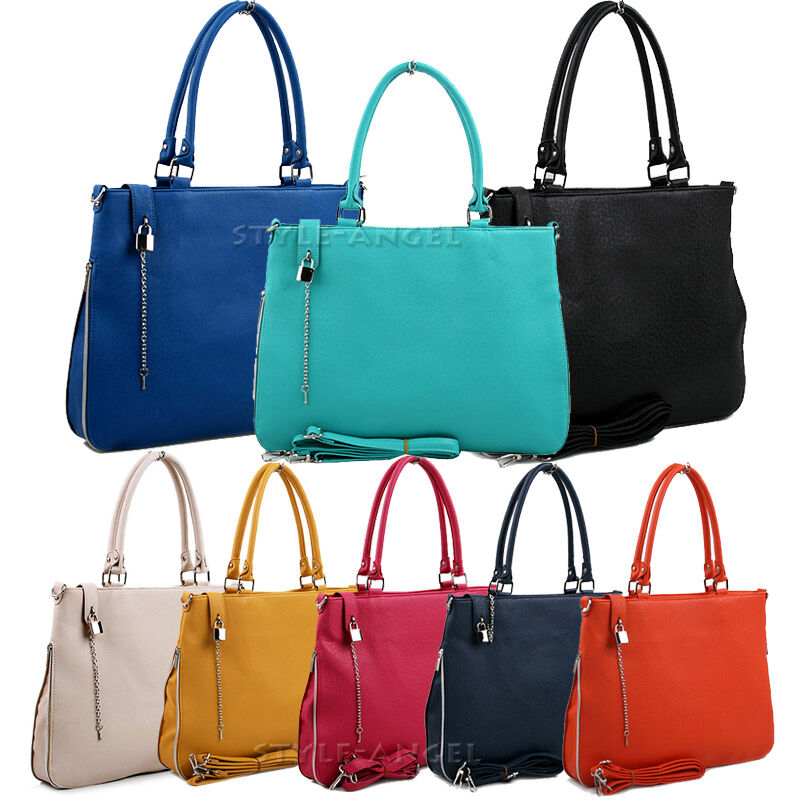 New Women Handbag Hobo Ladies Shoulder Cross Body Bag ...