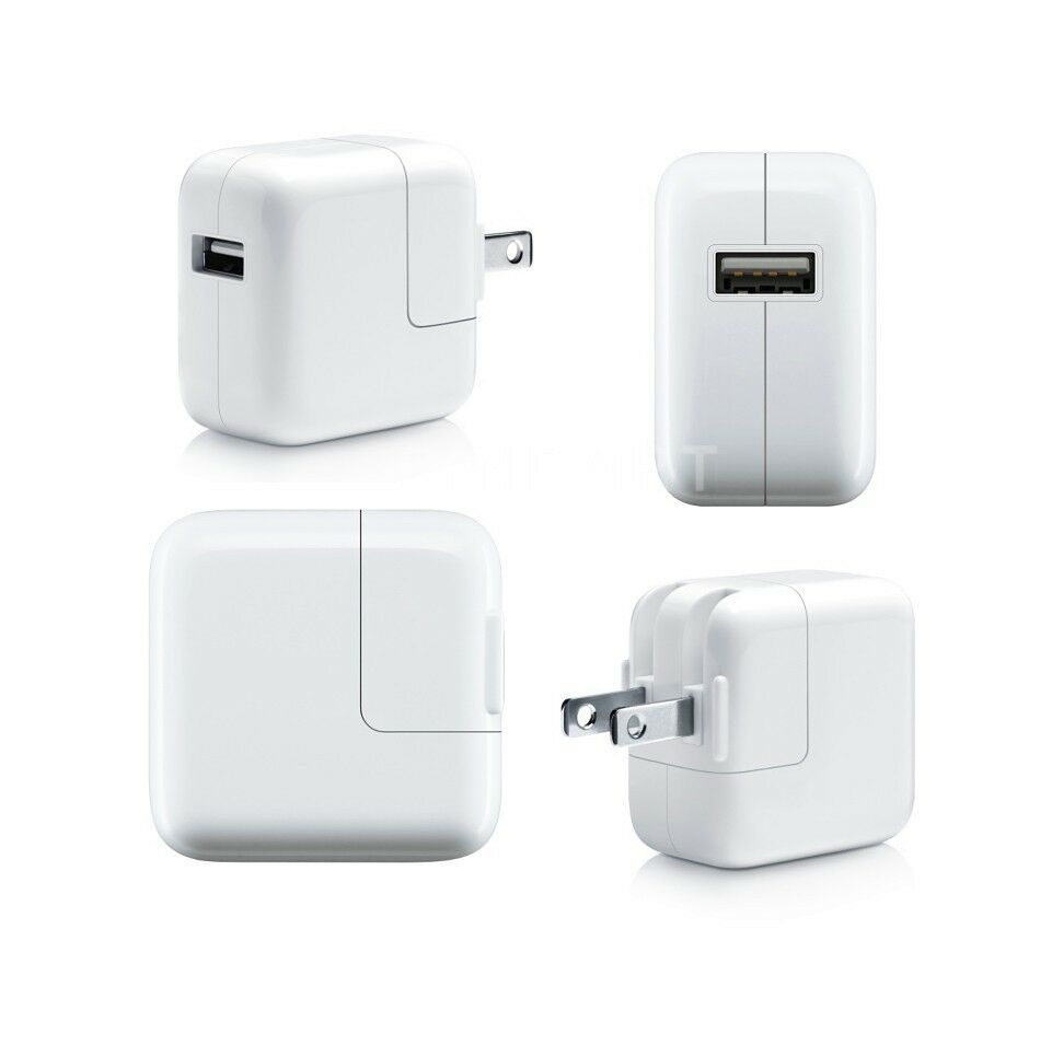 Iphone Wall Charger: Apple MD836LL/A OEM 12W USB Power Adapter Wall Charger For