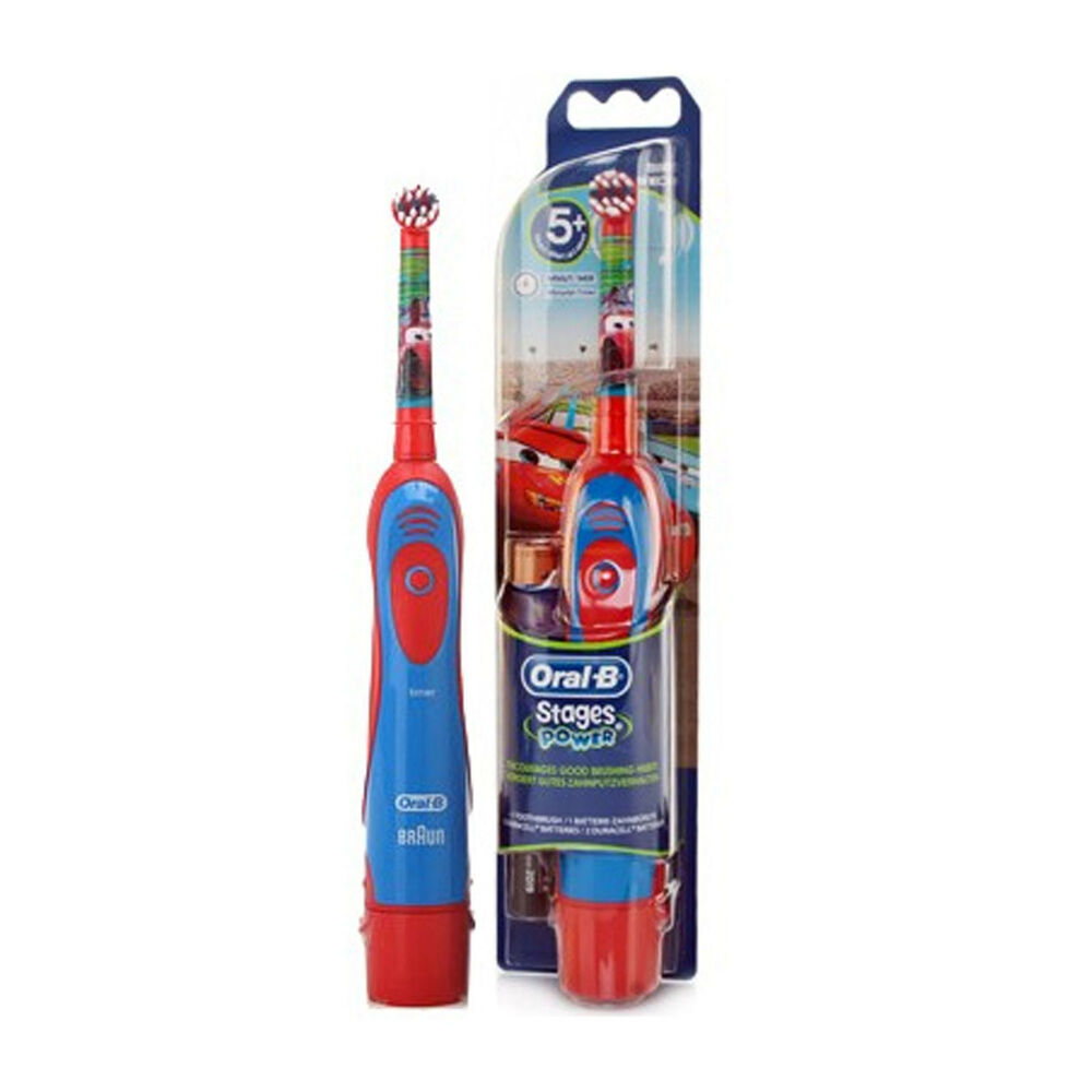 braun oral b 4510k stages power electric toothbrush for kids disney cars ebay. Black Bedroom Furniture Sets. Home Design Ideas