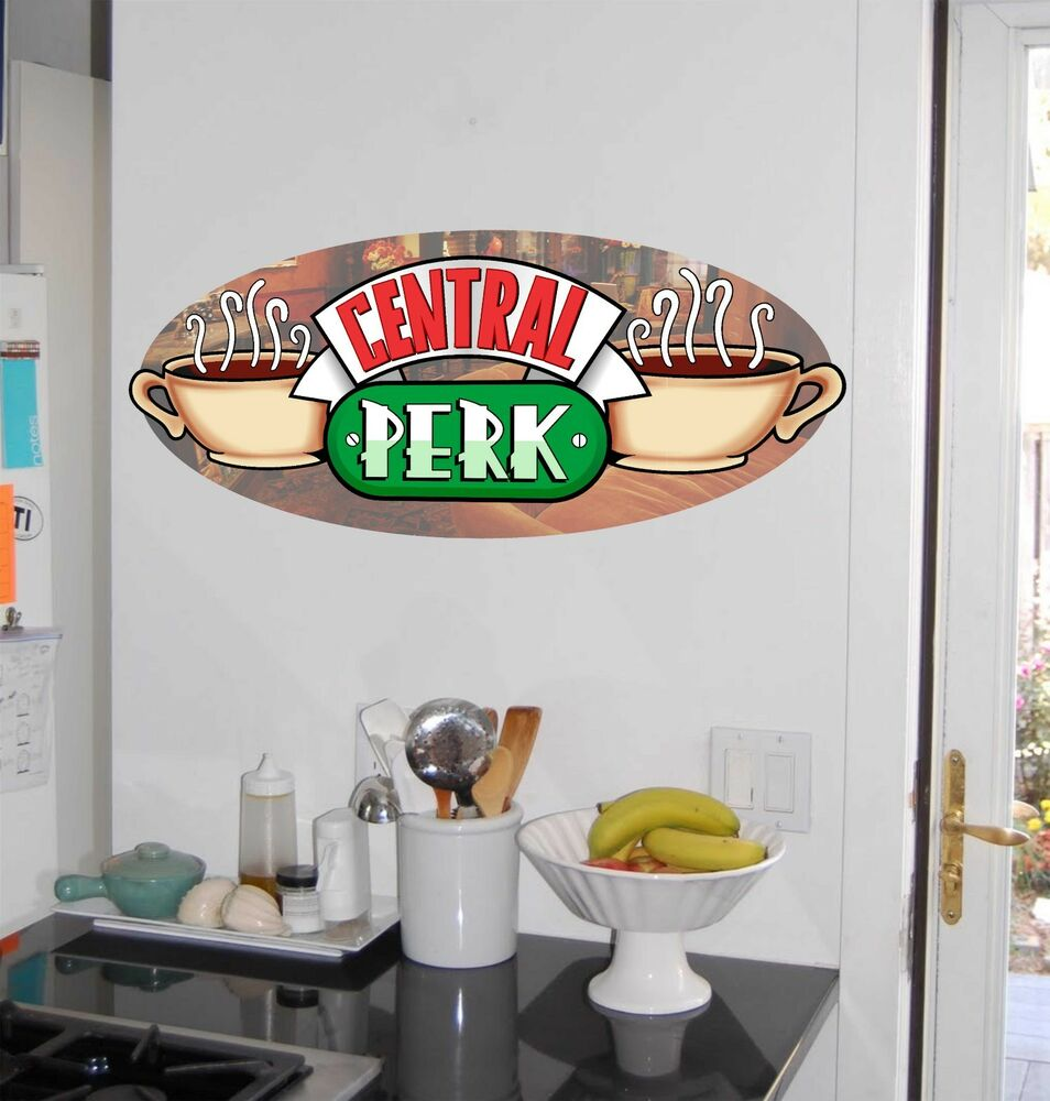 Central Perk Coffee House Friends Repositionable Wall