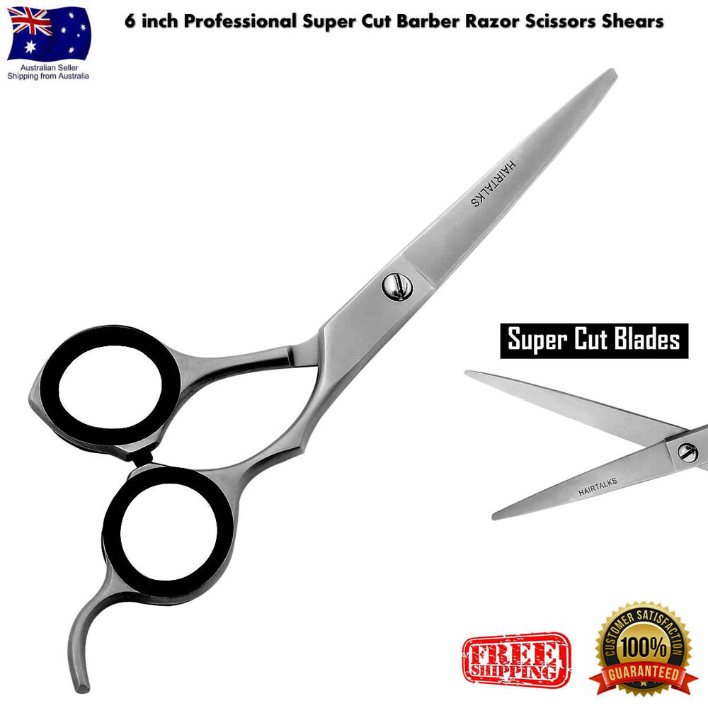 6 Inch Professional Super Cut Barber Razor Scissors
