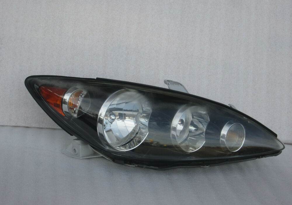 toyota camry se headlight front head lamp black oem 2005 2006 ebay. Black Bedroom Furniture Sets. Home Design Ideas