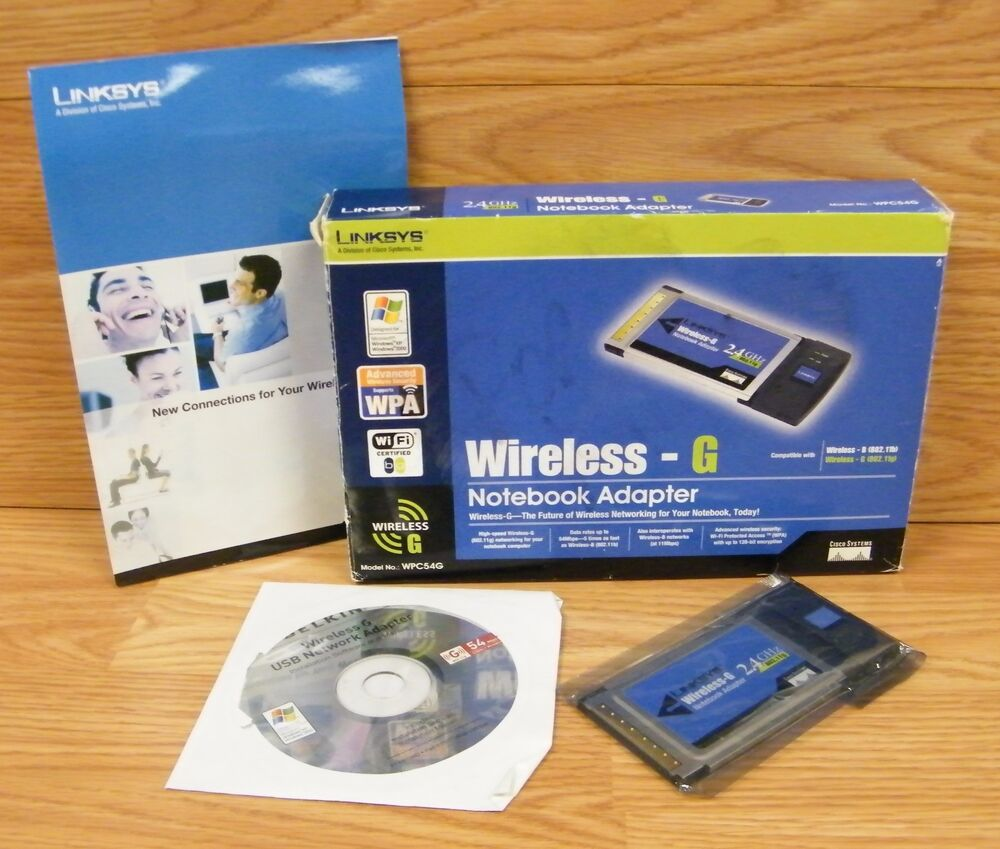 LINKSYS WPC54G VER2 WINDOWS 7 DRIVER