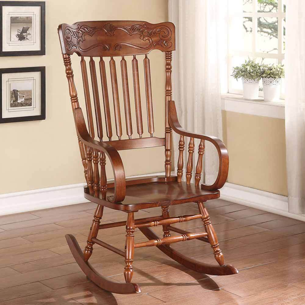rocking chair living room kloris collection transitional living room rocking chair 13973