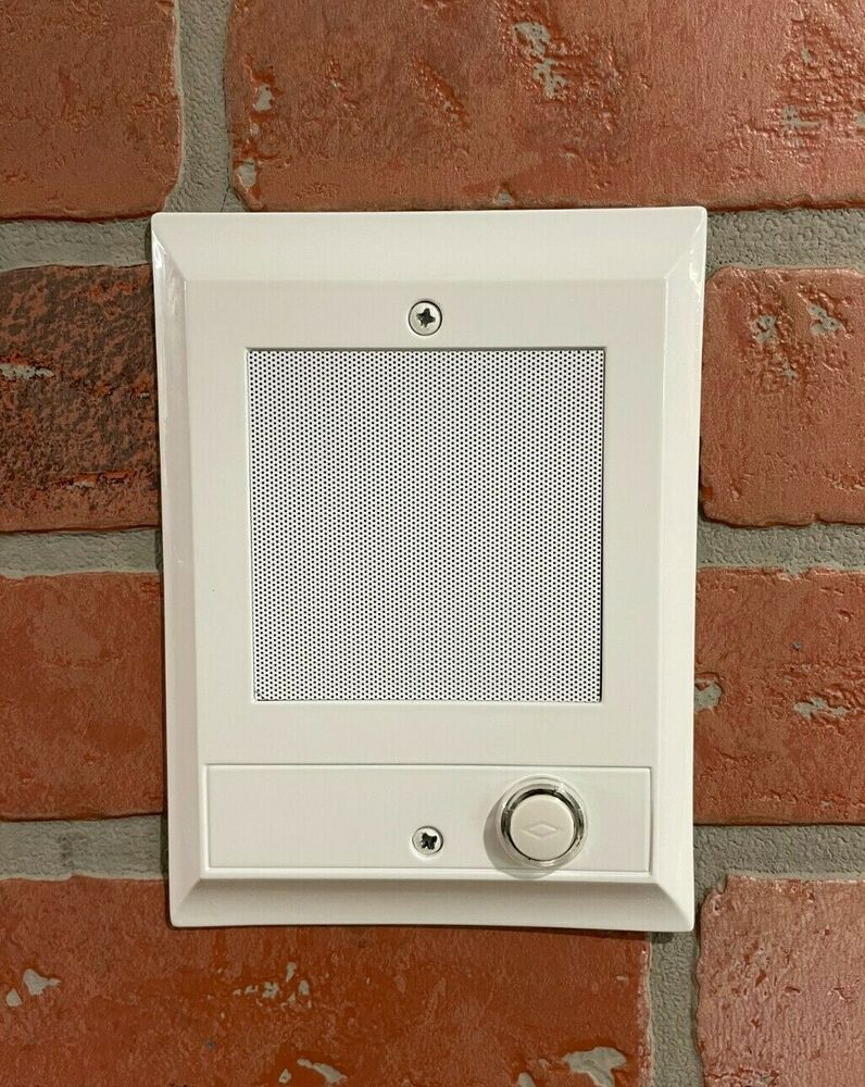 Merveilleux *NEW* Nutone IS 69WH WHITE Intercom Door Speaker +lighted Pushbutton Is67  Is54 784891990137 | EBay