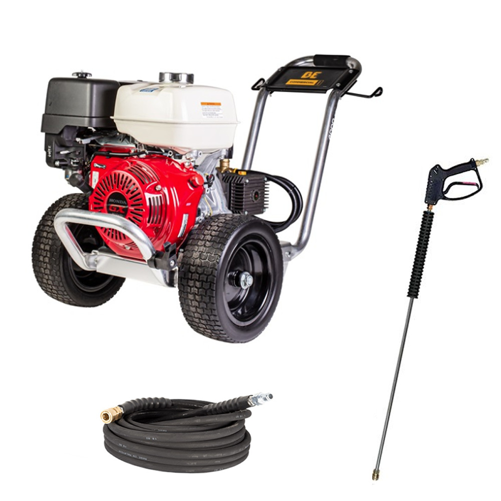 Be Professional 4000 Psi Gas Cold Water Pressure