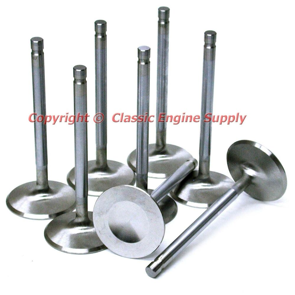 New stainless steel quot intake valve set chevy sb