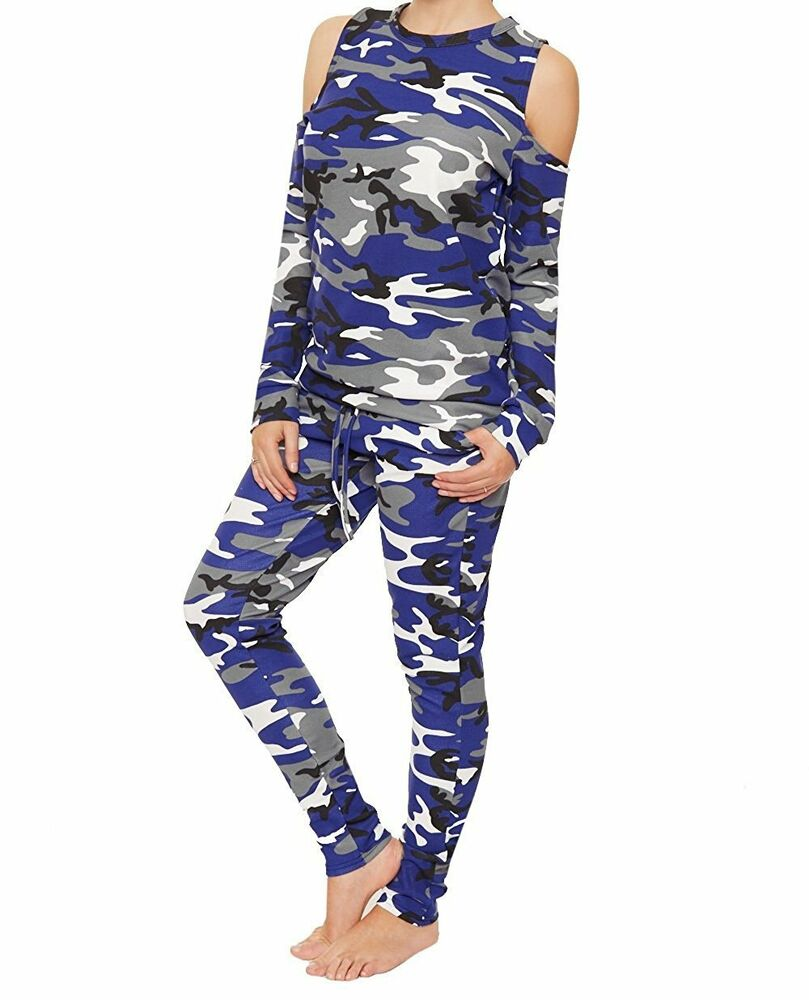 SEXY WOMEN LADIES CAMOUFLAGE ARMY PRINT JOGGERS LEGGINGS TROUSERS | eBay