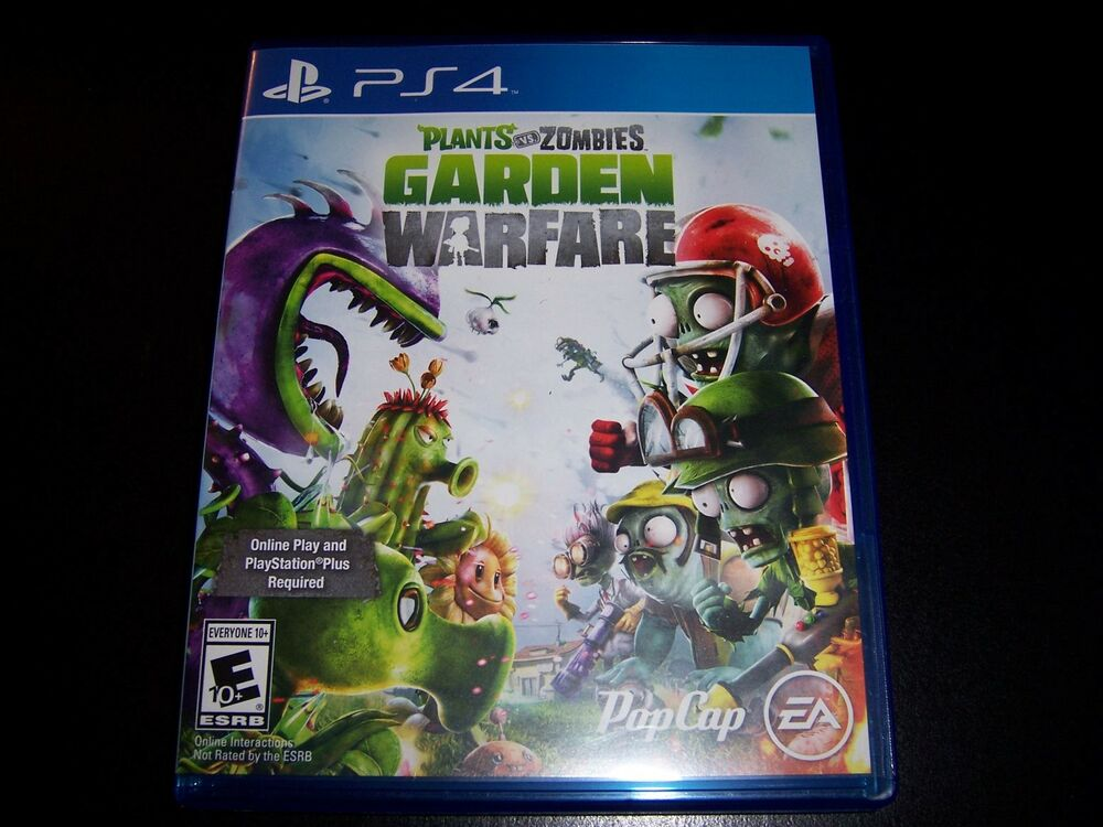 Replacement Case No Game Plants Vs Zombies Garden Warfare Ps4 Playstation 4 Ebay