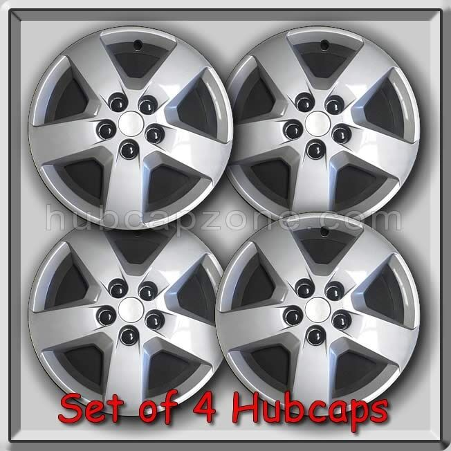 "Nissan Sentra 2012 Accessories >> Set Of 4 16"" Silver Bolt On Chevy Chevrolet HHR hubcaps 2007-2011 Wheel Covers 