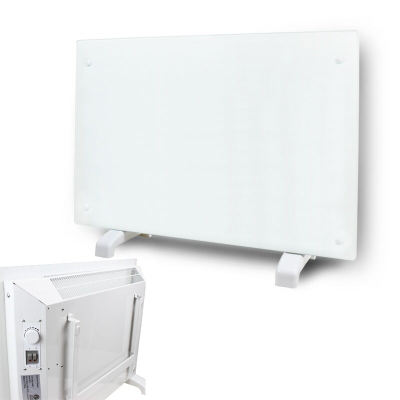 1500 Watt White Wall Mount Electric Panel Indoor Living