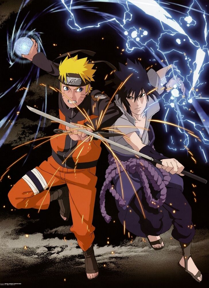 Uzumaki naruto japanese anime poster art print 0066 a4 a3 for Buy art posters online