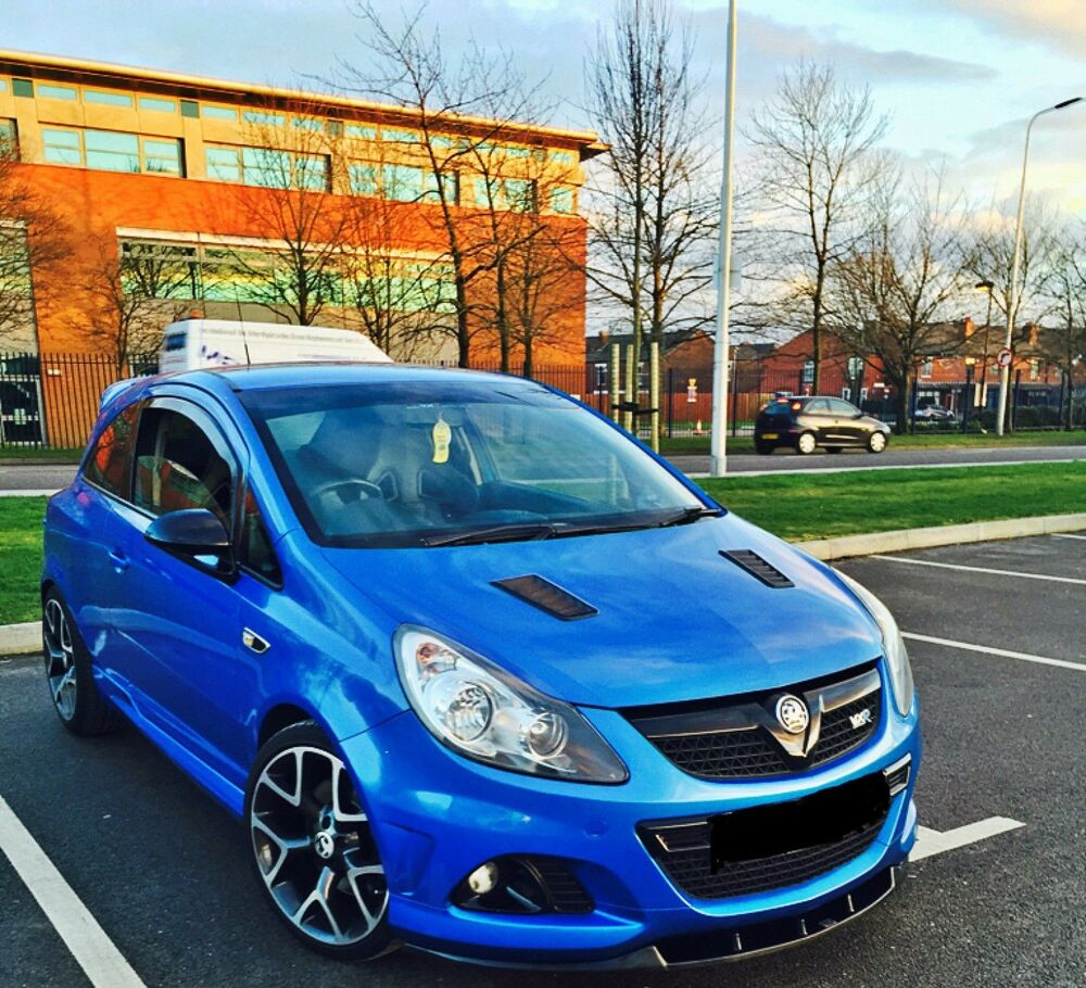 front splitter textured vauxhall opel corsa d vxr. Black Bedroom Furniture Sets. Home Design Ideas
