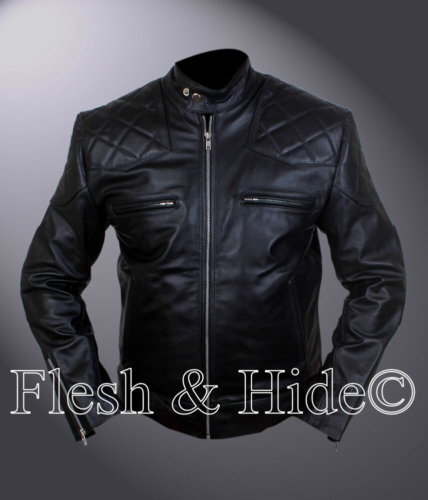 David Beckham motorcycle jacket is an iconic pure motor-cyclic collection has worn by David Beckham. This, David Beckham leather jacket is designed by the inspiration of vintage quilted wear with real leather material. Beckham leather jacket is an eligible outfit should be a cool.