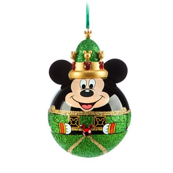 Disney store exclusive mickey mouse nutcracker king ornament new disney world ebay - Disney store mickey mouse ...