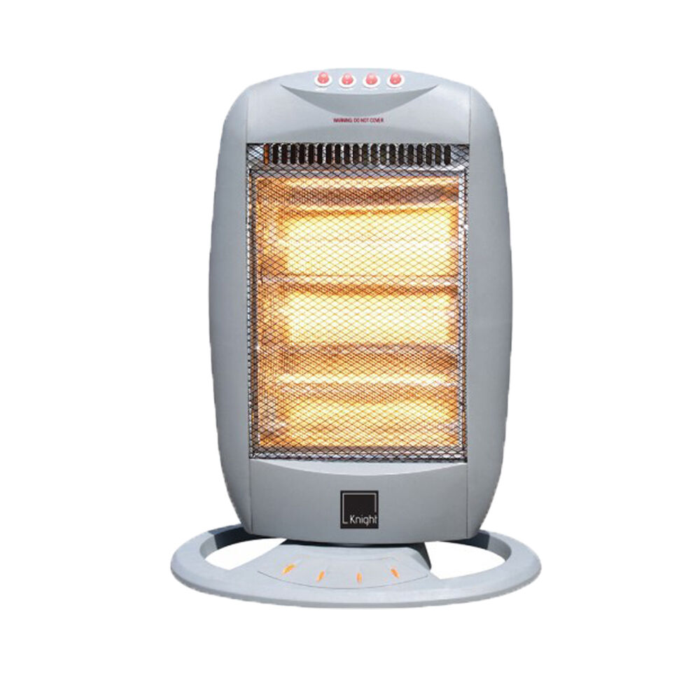 PORTABLE HALOGEN ELECTRIC HEATER 400W/800W/1200W FOR HOME ...