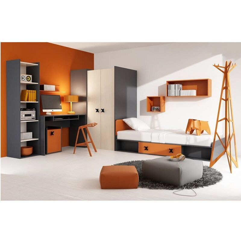 kids children youth bedroom furniture set x with walk in
