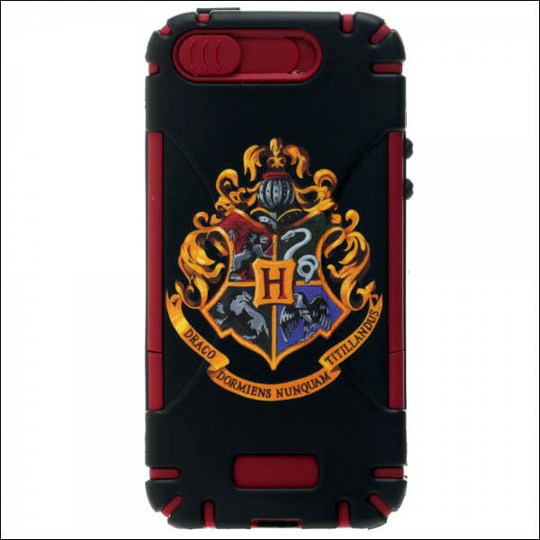 harry potter iphone 5 case harry potter hogwarts crest hardshell rubber 17014