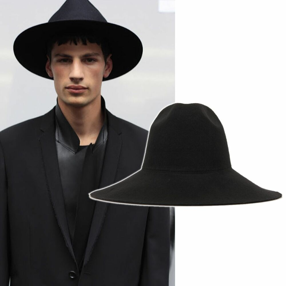 the gallery for gt black fedora hat for men