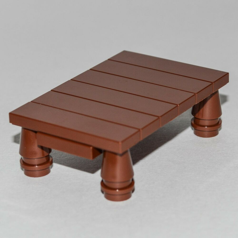 LEGO Furniture Brown Table