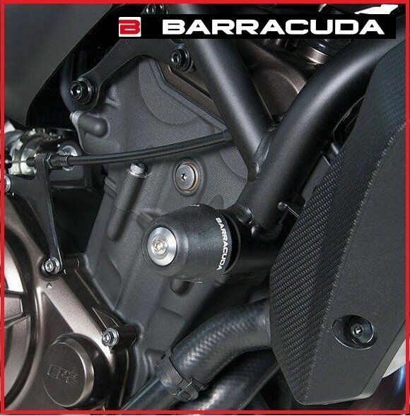 KIT COPPIA TAMPONI SLIDER PARATELAIO BARRACUDA YAMAHA MT-07 MT 07 14 - 17