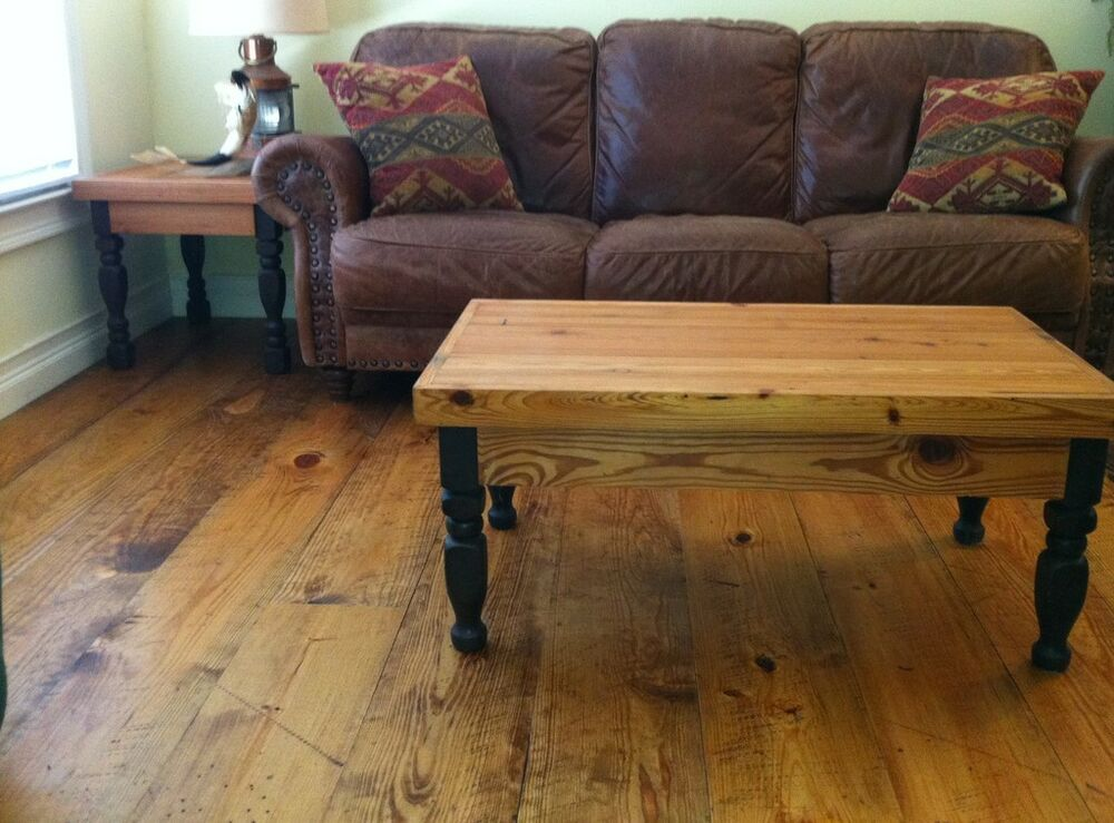 Distressed Prefinished Wide Plank Heart Pine Flooring Longleaf Yellow