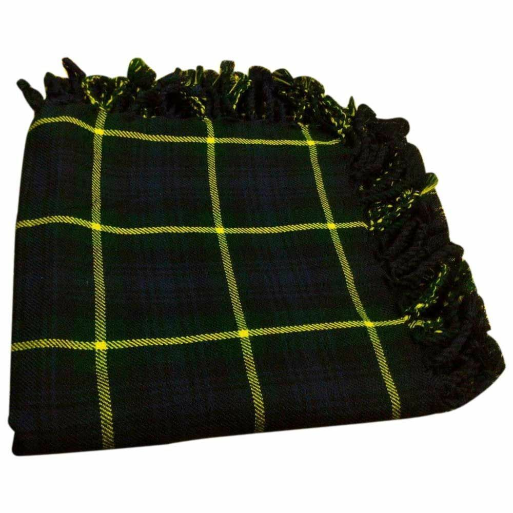 scottish kilt fly plaids gordon tartan 48 x 48 highland. Black Bedroom Furniture Sets. Home Design Ideas