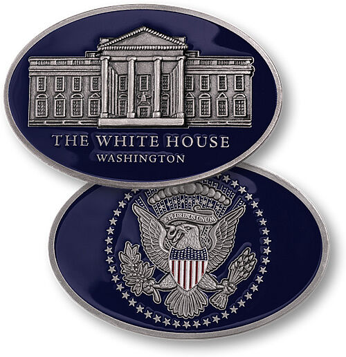 new the white house oval shape presidential seal challenge