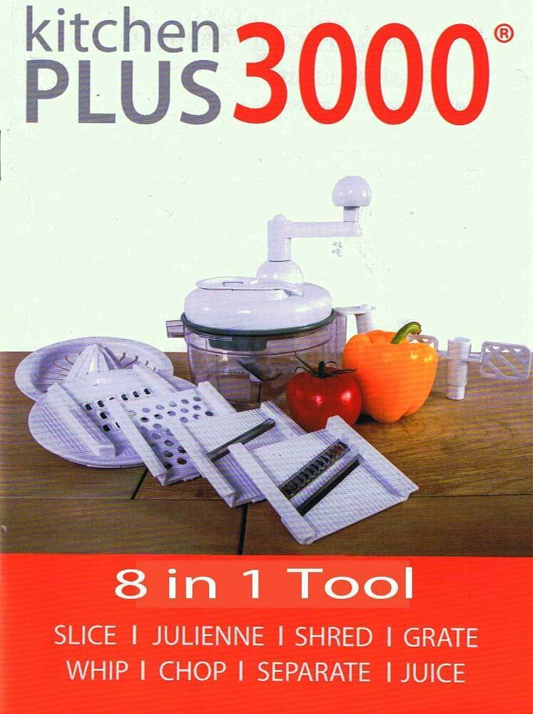 Food Processor As Seen On Tv ~ Kitchen plus miracle hand food processor chopper