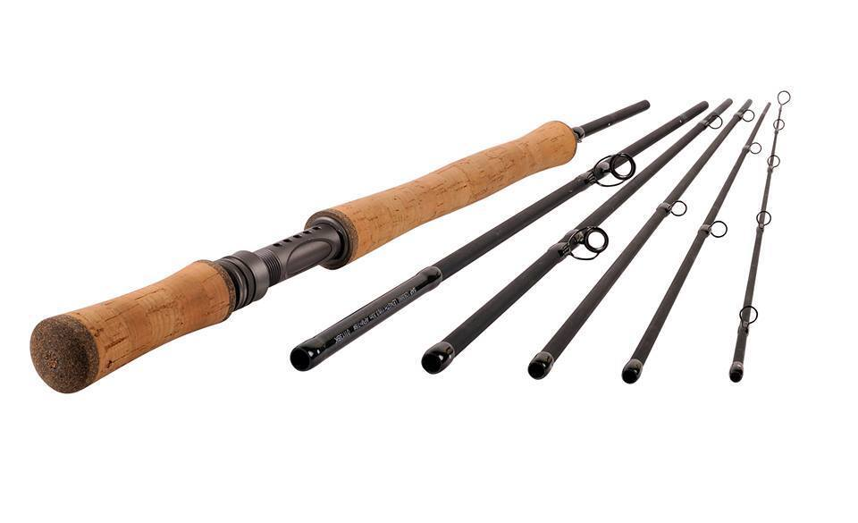 New shakespeare oracle switch exp 6 piece 11ft 8 9 fly rod for Fishing rod travel tubes