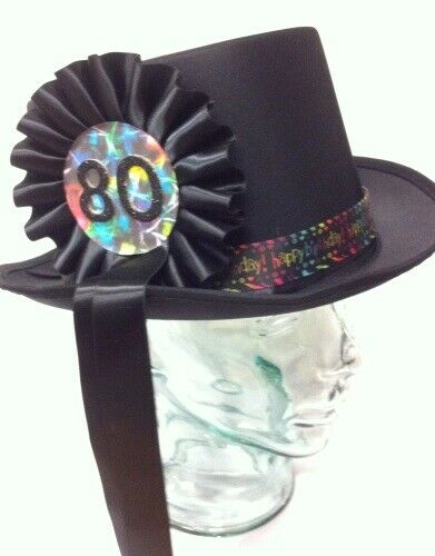 Birthday Hat Topper Choose Any Age 21 30 40 50 60 65 70