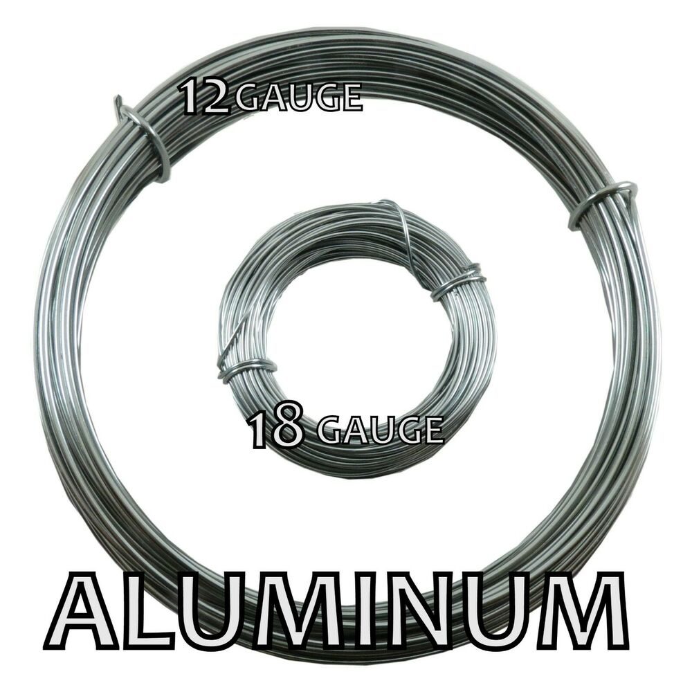 Aluminum bead smith wire 12 and 18 gauge 39 ft ebay