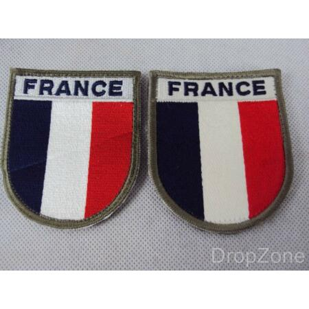 img-Pair of French Army Military Arm / Sleeve Patches / Badges