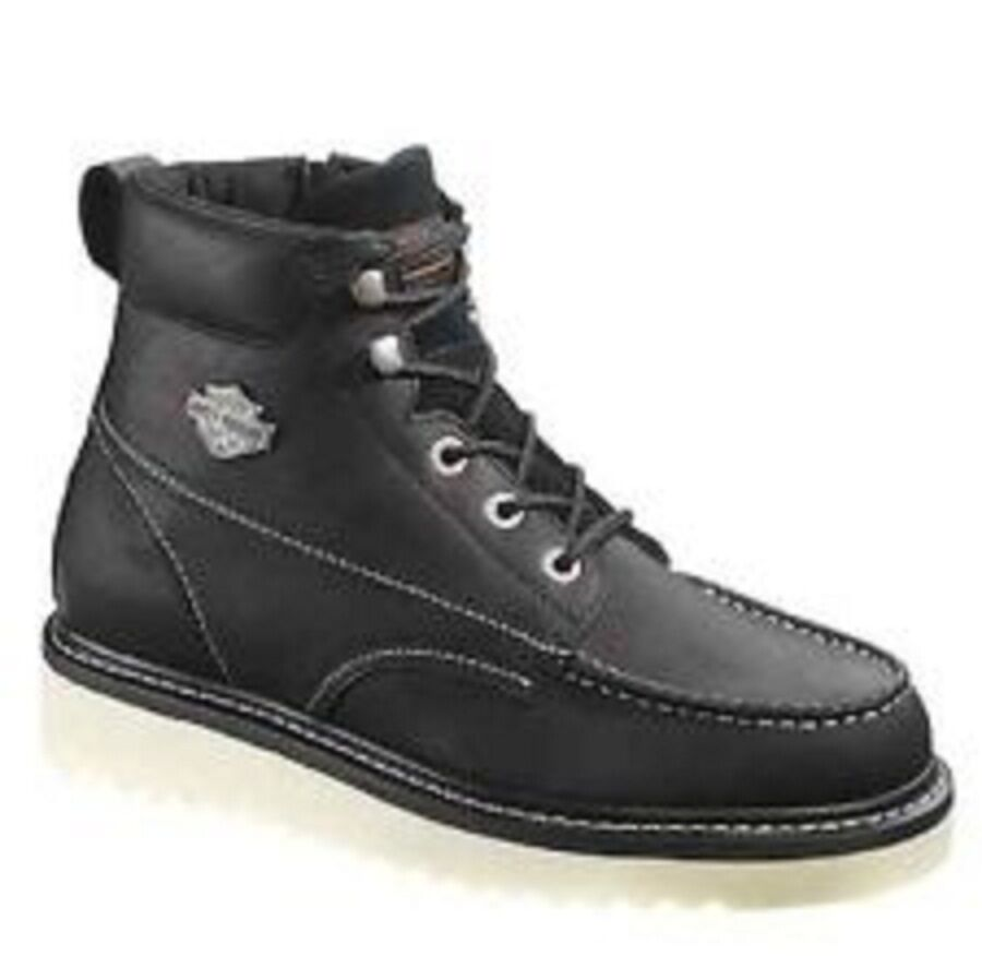 harley davidson s beau zip up motorcycle boots d93135
