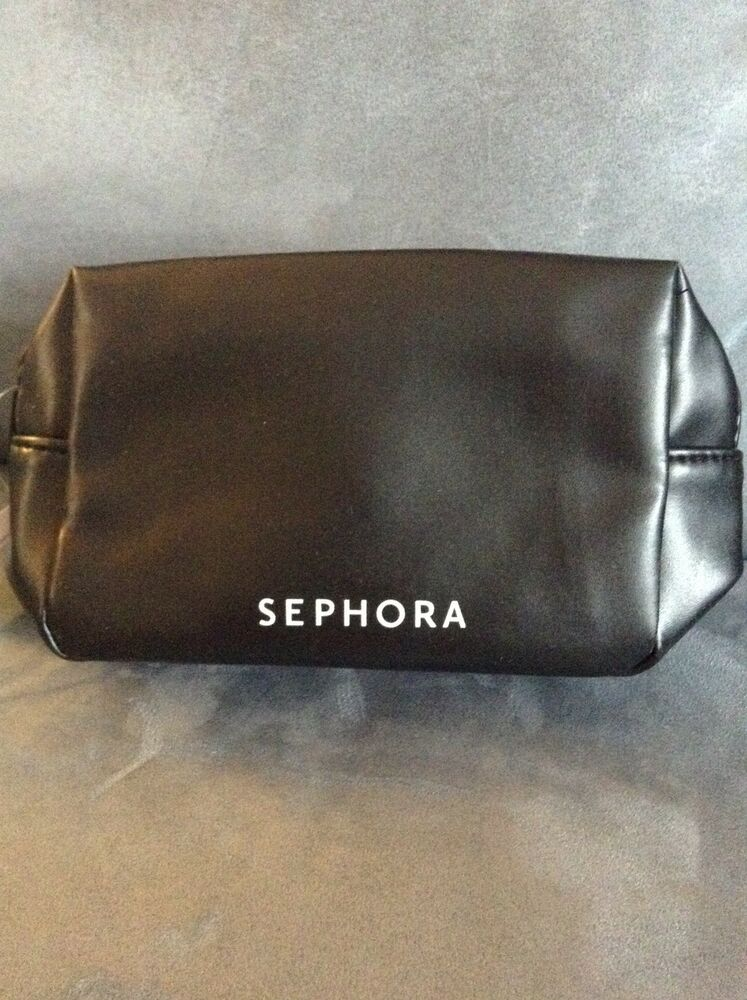 SEPHORA SMALL BLACK COSMETIC BAG - NEW WITH TAGS   eBay