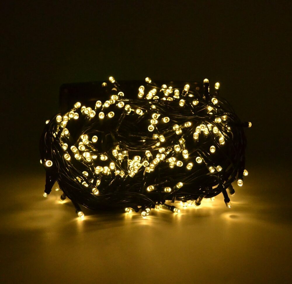 Led String Lights Reject Shop: 100ft 300 LED Solar Fairy Light String For Yard Outdoor