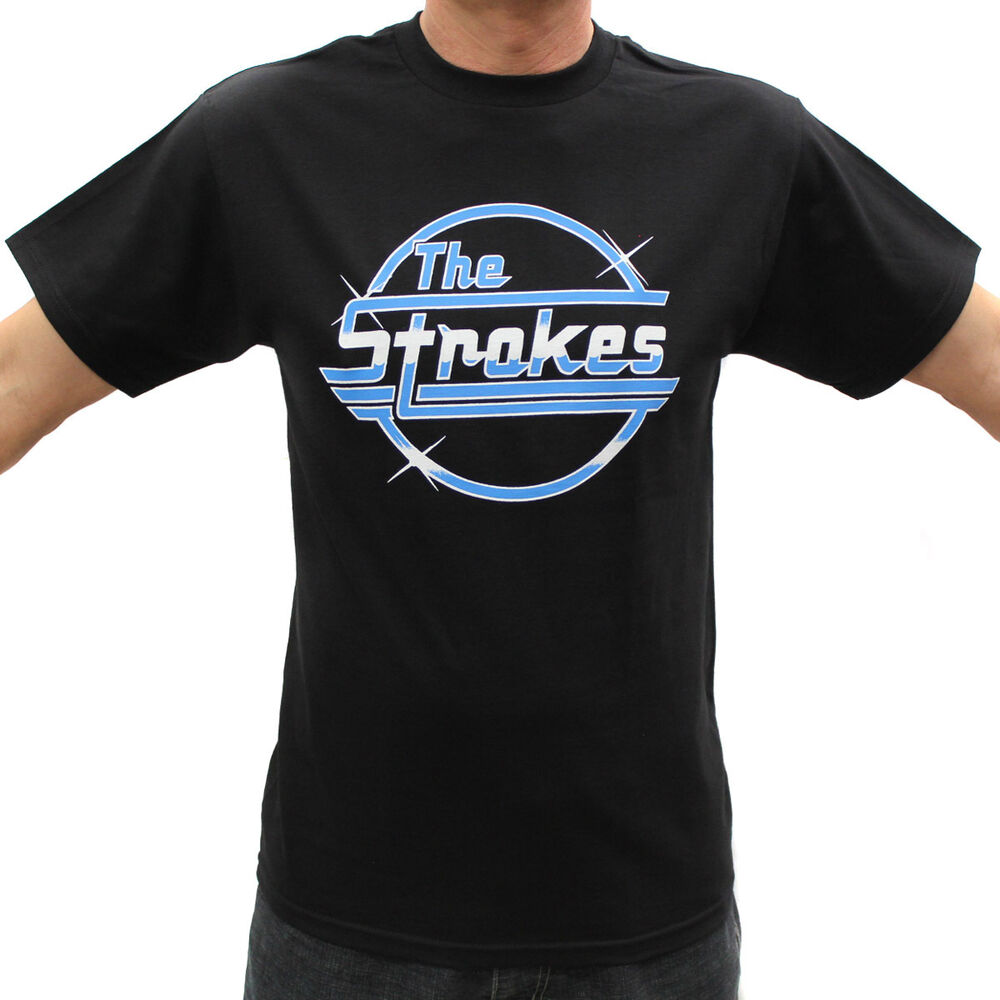 the strokes rock band graphic t shirts ebay. Black Bedroom Furniture Sets. Home Design Ideas