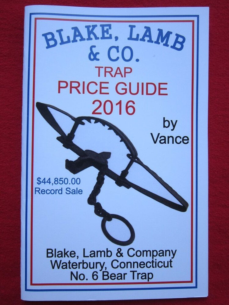 Blake lamb trap price guide by robert vance newhouse for Newhouse 1000