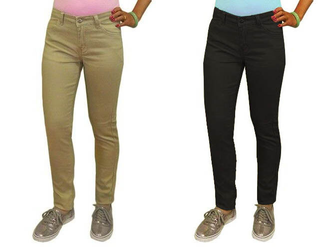 Soft with a great fit, these pants make an excellent addition to a school uniform or for casual wear.