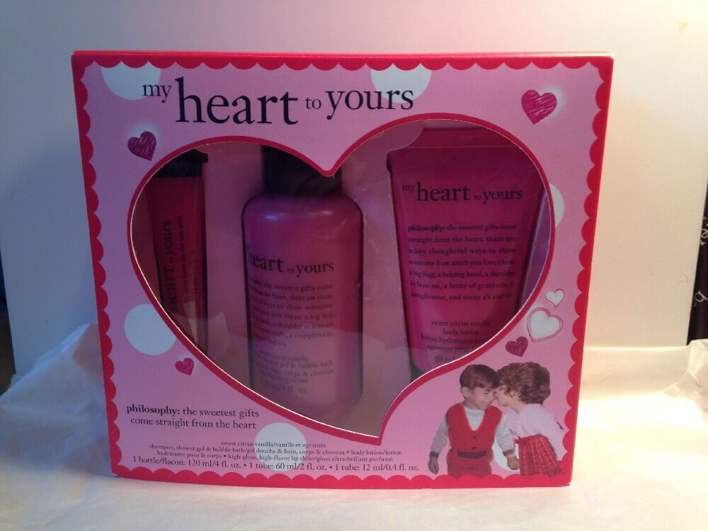 Philosophy My Heart To Yours Gift Set Shower Gel Body