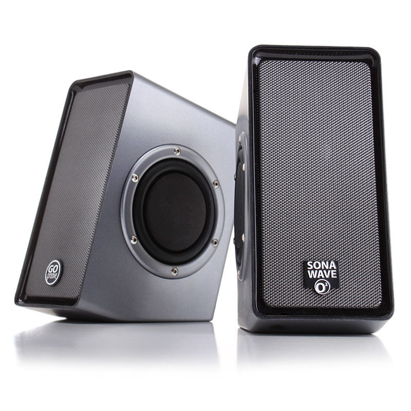 usb powered computer stereo speaker system with dual passive subwoofers 637836511853 ebay blackweb 20 powerful speaker system