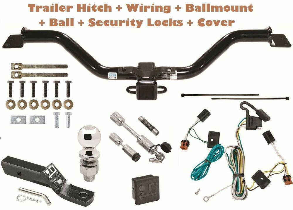 07 12 gmc acadia trailer tow hitch pkg deluxe w  wiring