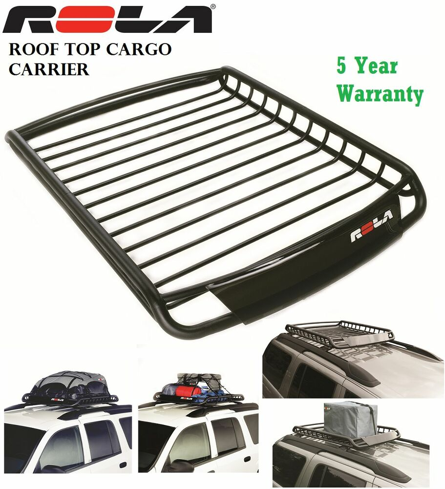 Rola 59504 Roof Top Vortex Cargo Luggage Carier Rack Car