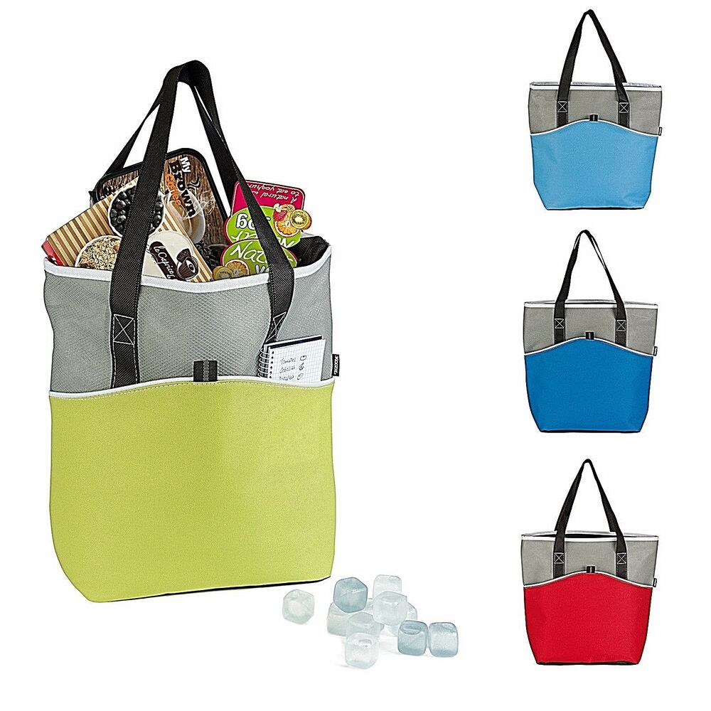 insulated cooler bags large koozie supermarket shopping basket tote cool bag 13279