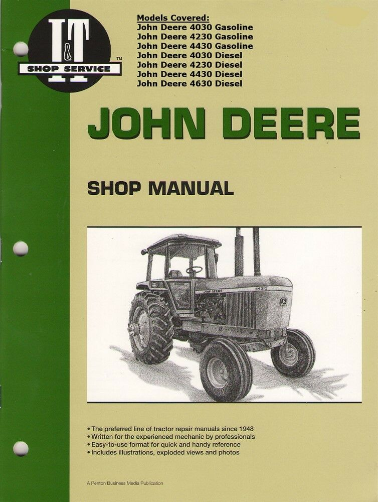 John deere 2030 shop manual