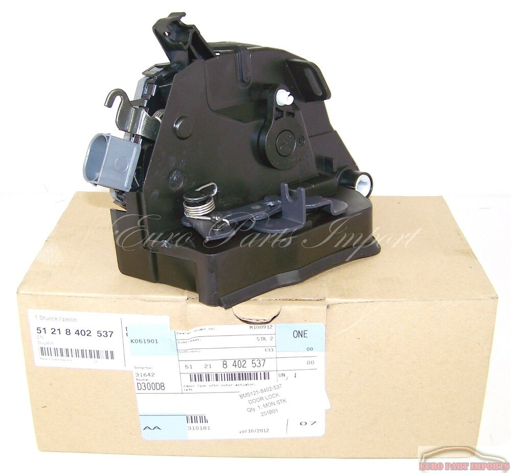 Bmw x5 e53 left front door lock actuator motor original for Door lock germany
