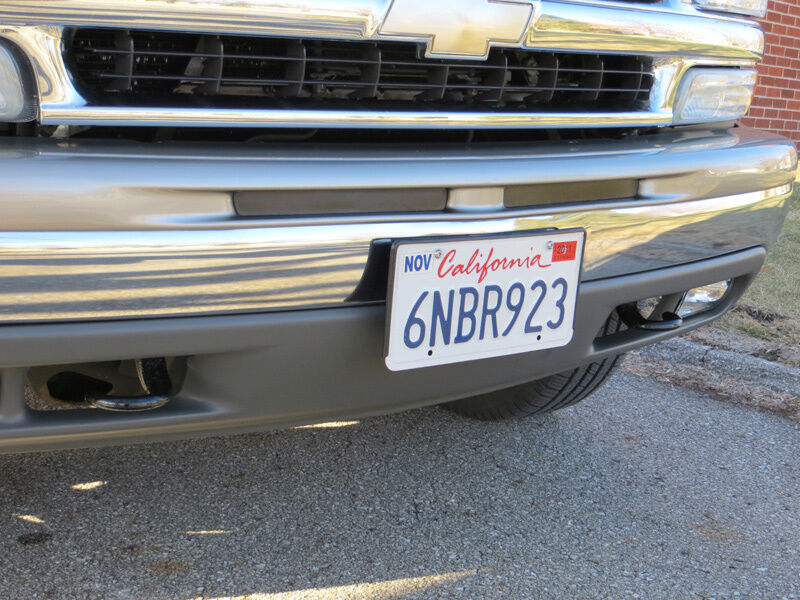 Front License Plate Bracket Kit For 1999 2002 Quot New Quot Body