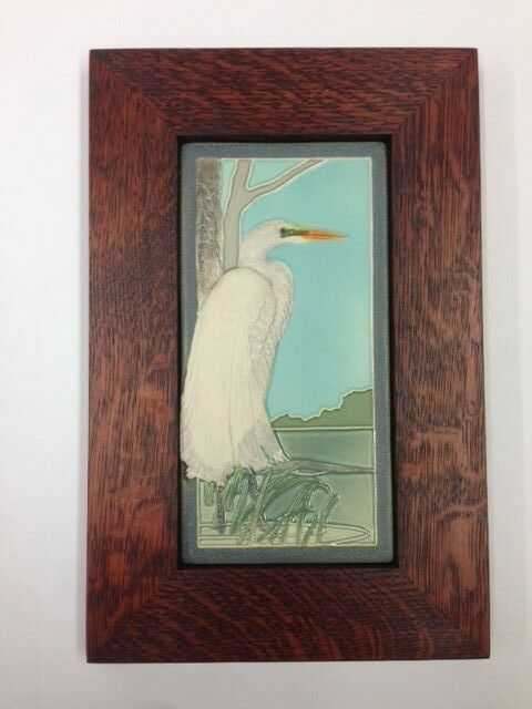 Arts and Crafts Style   The Arch Blog  Arts Craft Tile Egret