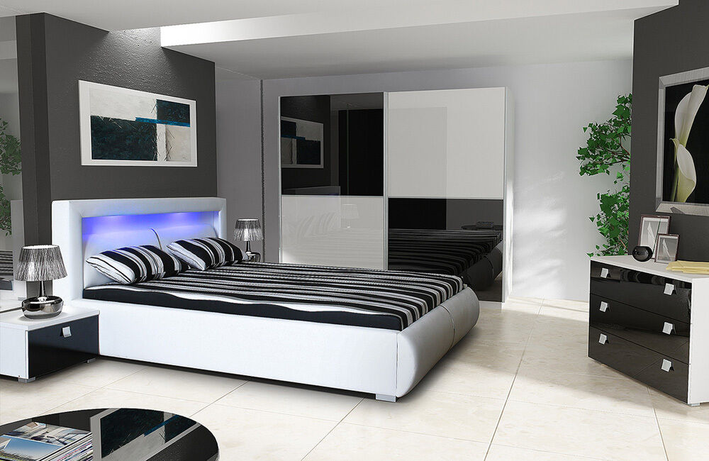 high gloss super king size storage bed bedroom set lano. Black Bedroom Furniture Sets. Home Design Ideas