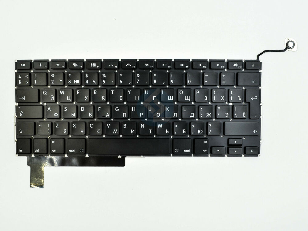 new russian keyboard for macbook pro 15 u0026quot  a1286 2009 2010 2011 2012